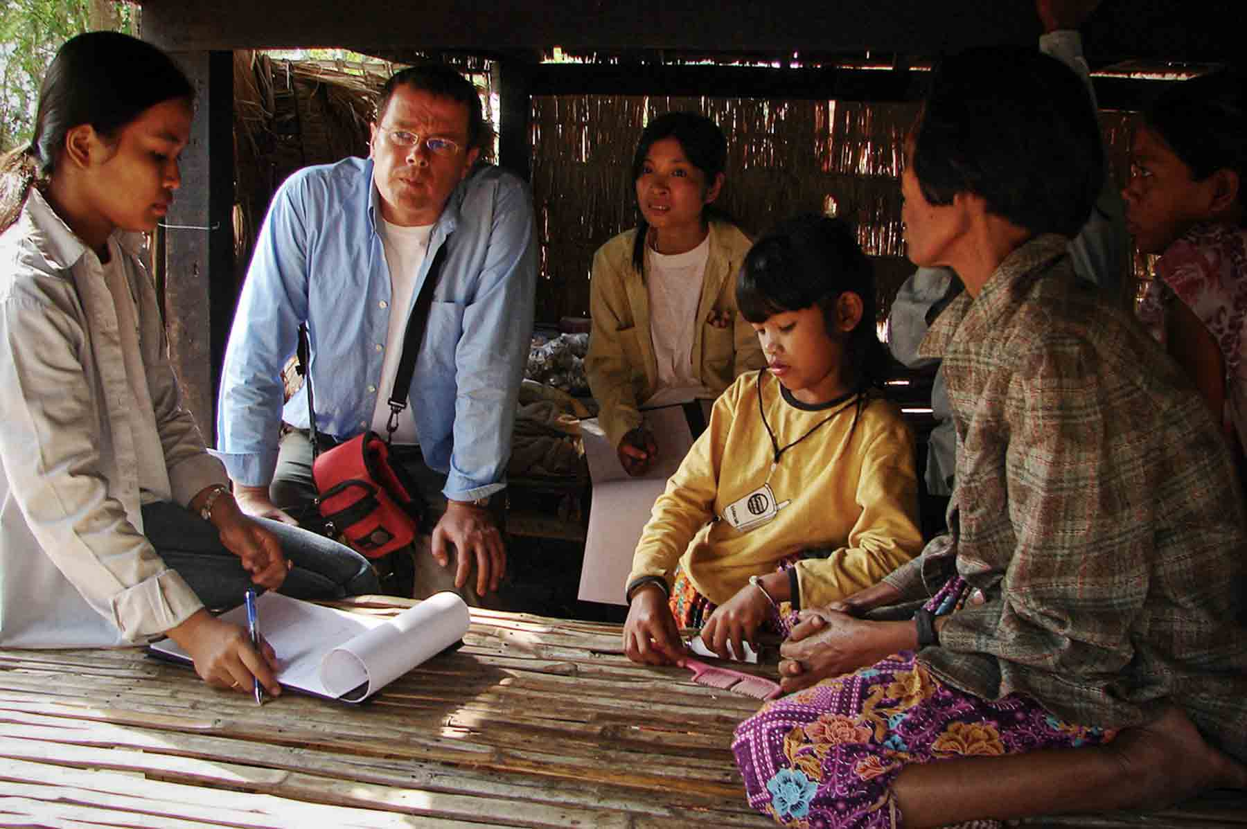 Localisation and humanitarian intervention in a village in Cambodia for poor children suffering from ill-treatment, sexual abuse or abandoned by their parents and entrusted to people from the village.
