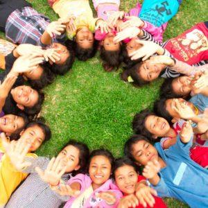 enfants du refuge AVEC au Cambodge